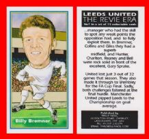 Leeds United Billy Bremner Scotland 7